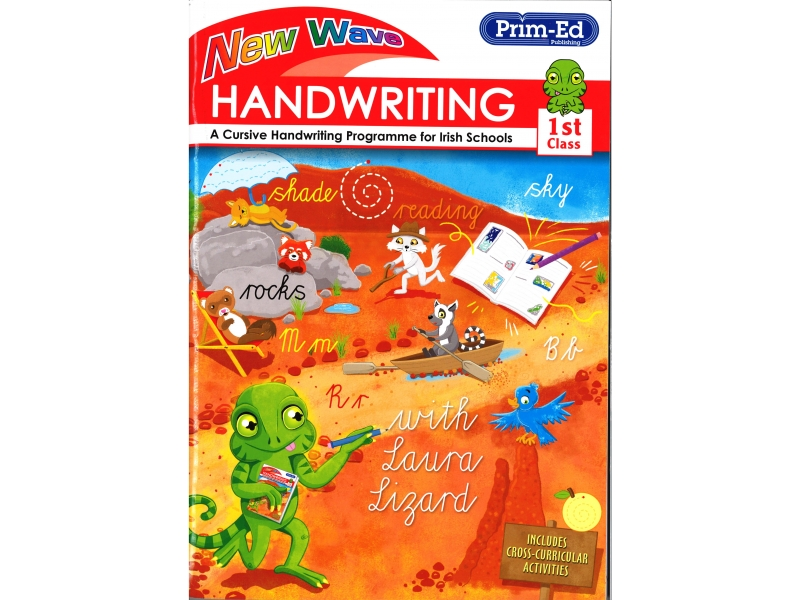 New Wave Handwriting - First Class - A Cursive Programme For Irish Schools