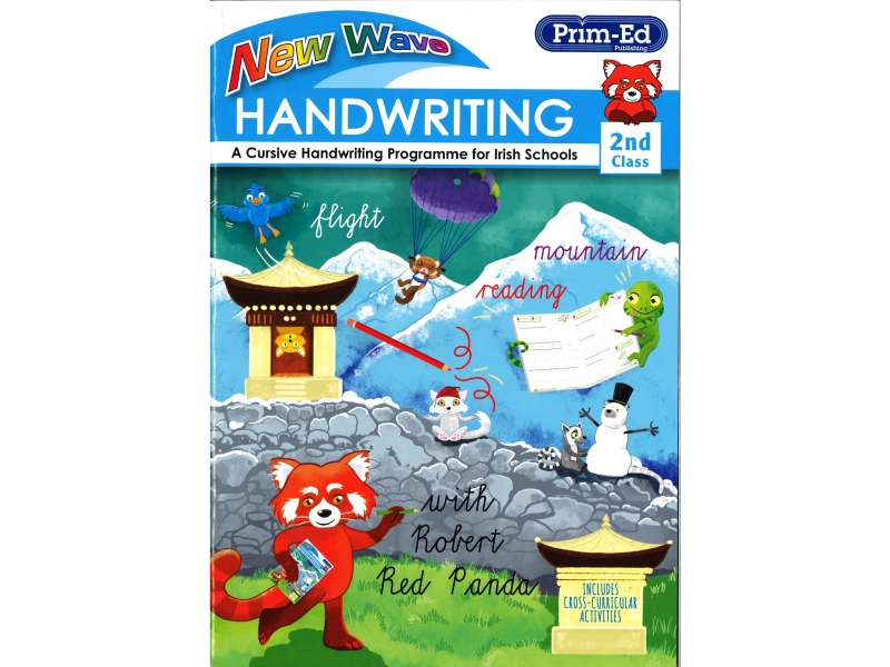 New Wave Handwriting - Second Class - A Cursive Programme For Irish Schools