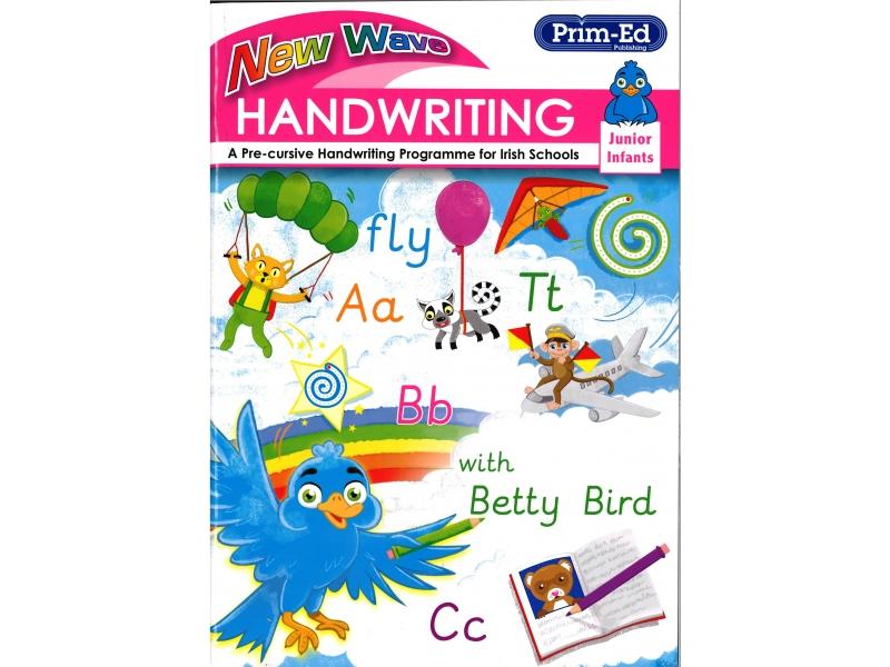New Wave Handwriting - Junior Infants - A Cursive Programme For Irish Schools