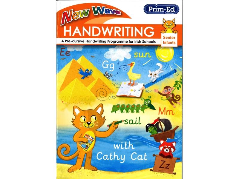 New Wave Handwriting - Senior Infants - A Cursive Programme For Irish Schools