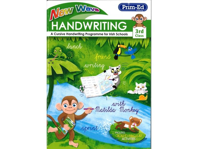 New Wave Handwriting - Third Class - A Cursive Programme For Irish Schools