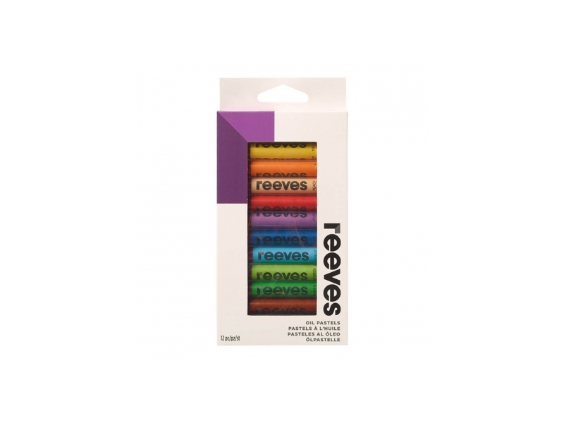 Reeves Oil Pastels 12 Pack