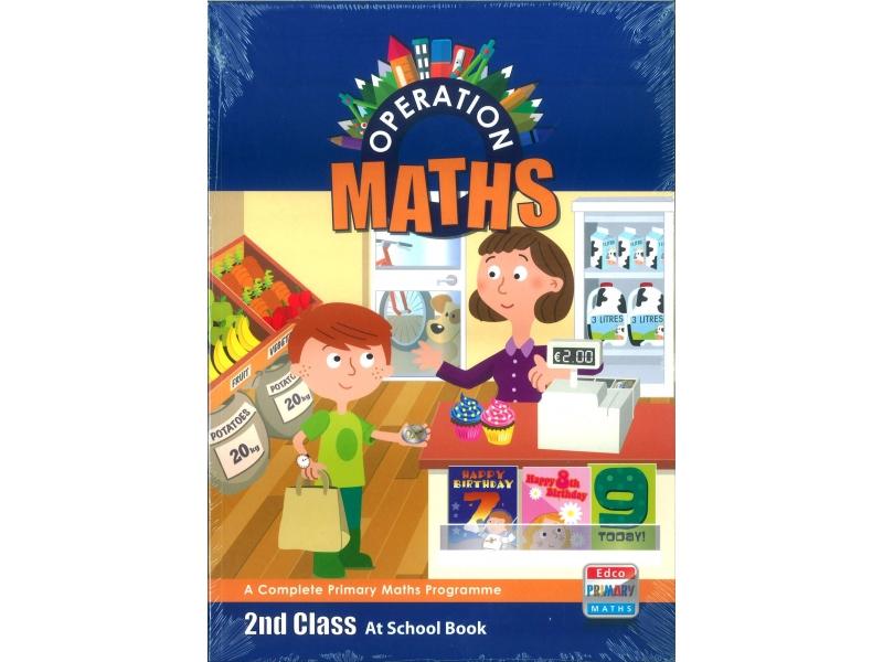 Operation Maths 2 Pack - Pupil's Book, Assessment Book & At Home Book - Second Class