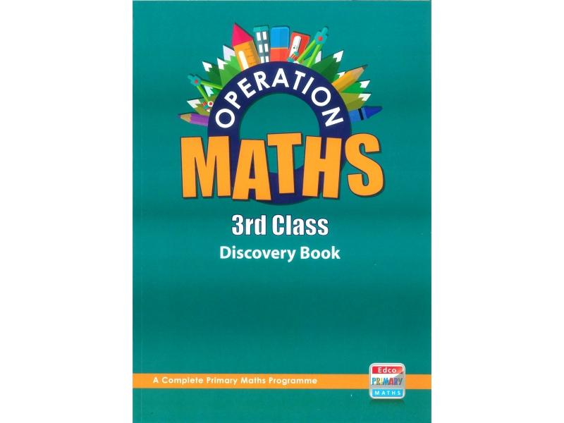 Operation Maths 3 - Discovery Book - Third Class