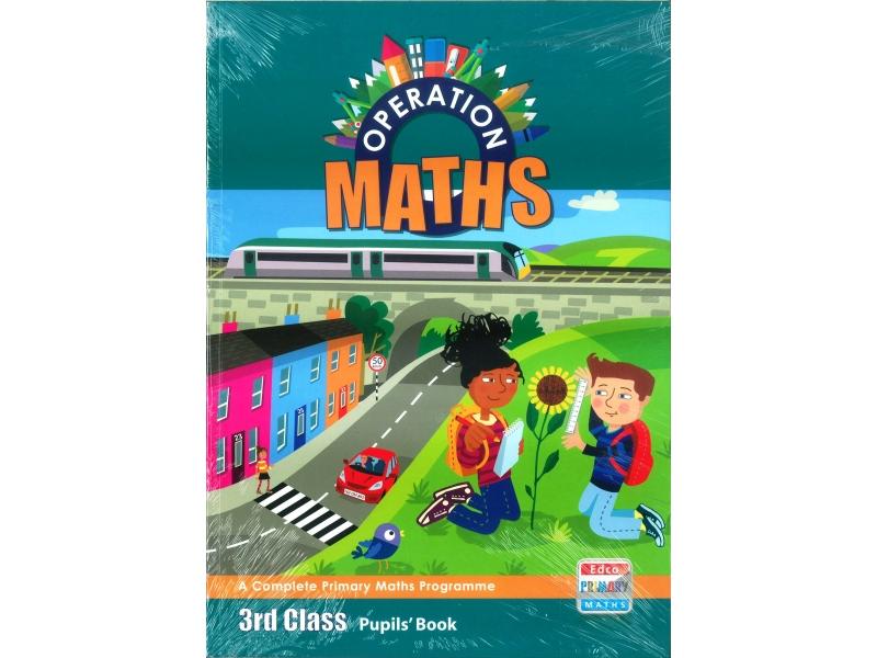 Operation Maths 3 Pack - Pupil's Book, Assessment Book & Discovery Book - Third Class