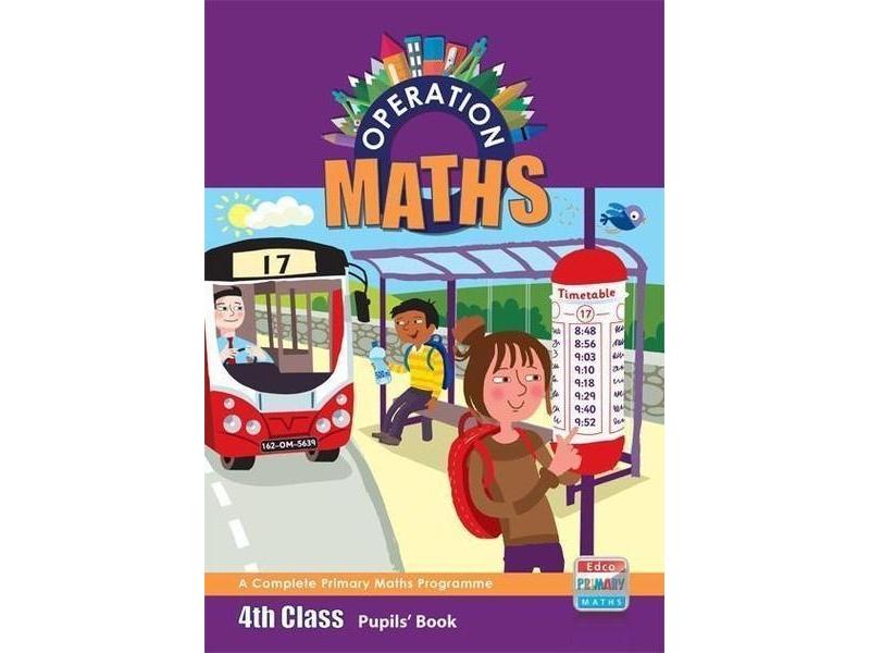 Operation Maths 4 - Pupil's Book