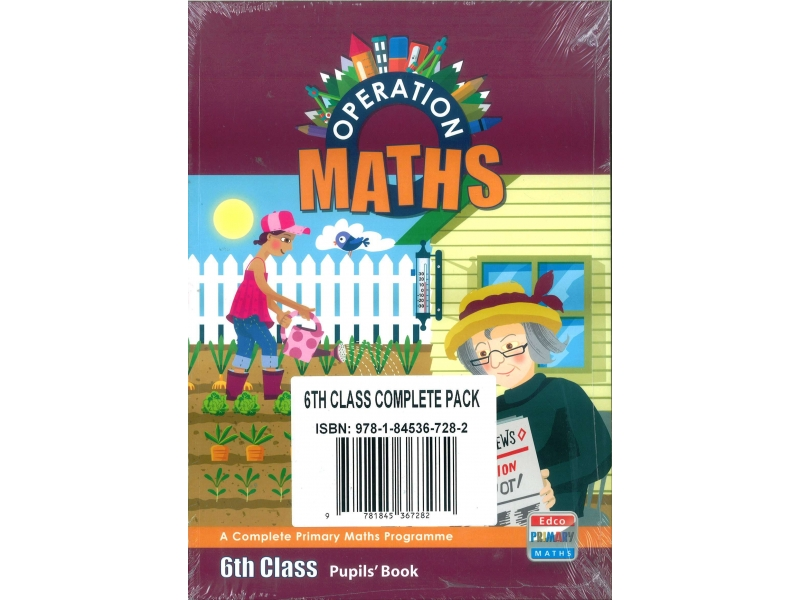 Operation Maths 6 Pack - Pupil's Book, Assessment Book & Discovery Book - Sixth Class