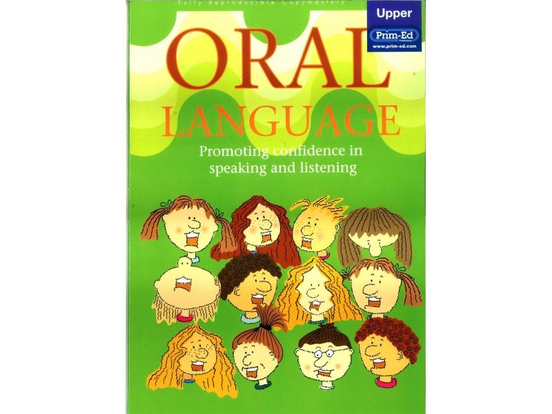 Oral Language - Upper Primary