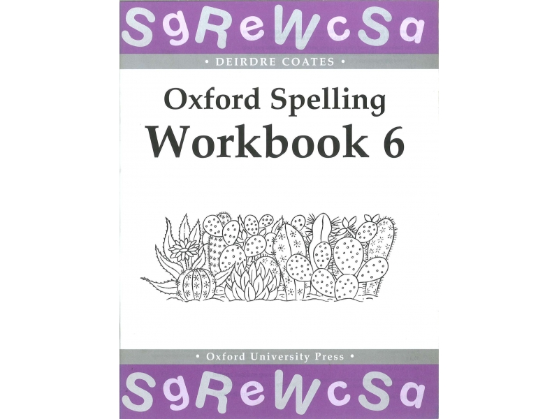 Oxford Spelling Workbook 6