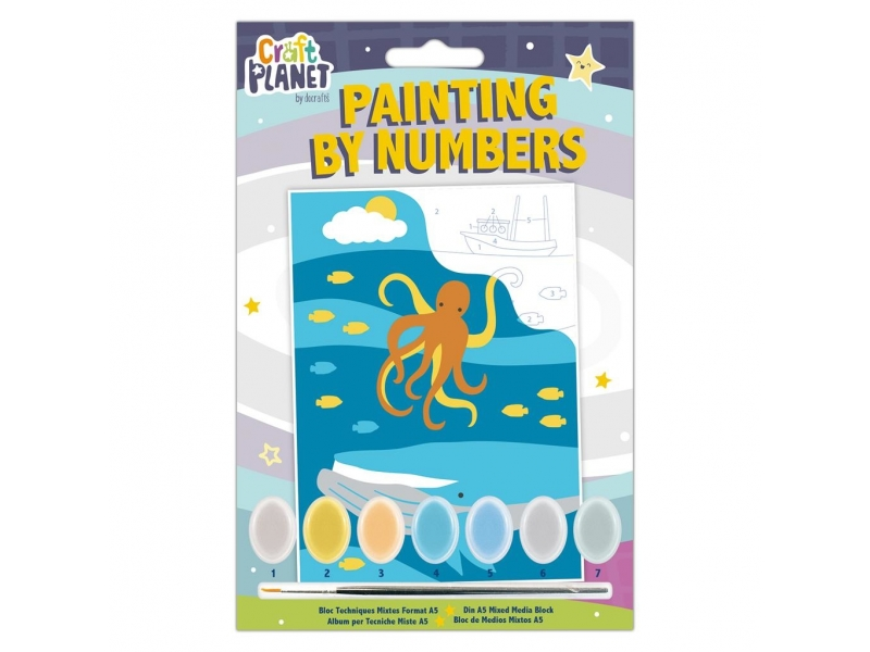 Craft Planet - Painting By Numbers Underwater