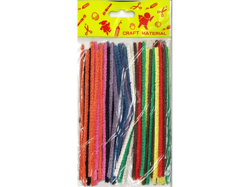 Pipe Cleaners 15cm 50's - Assorted Colours