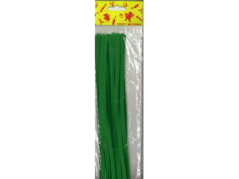 Pipe Cleaners 30cm 25's - Green
