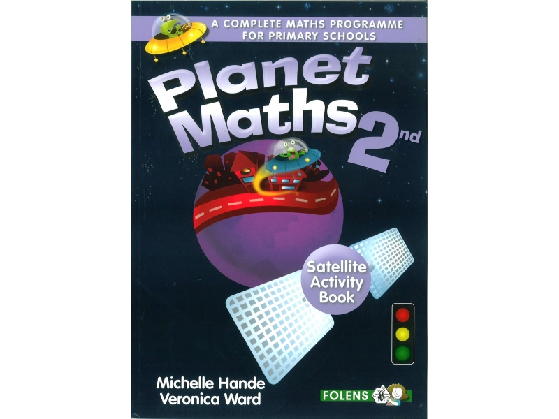 Planet Maths 2 - Satellite Activity Book - 2nd Edition - Second Class