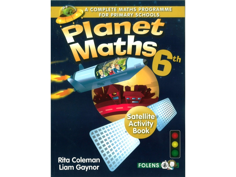 Planet Maths 6 - Satellite Activity Book - 2nd Edition - Sixth Class