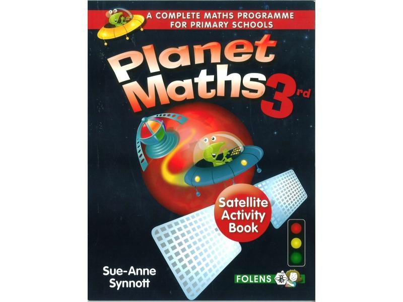 Planet Maths 3 - Satellite Activity Book - 2nd Edition - Third Class