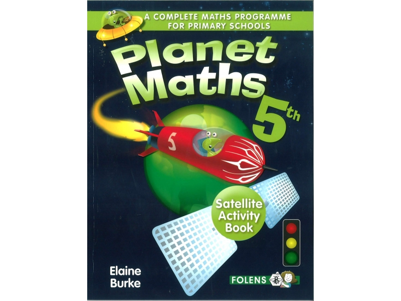 Planet Maths 5 - Satellite Activity Book - 2nd Edition - Fifth Class