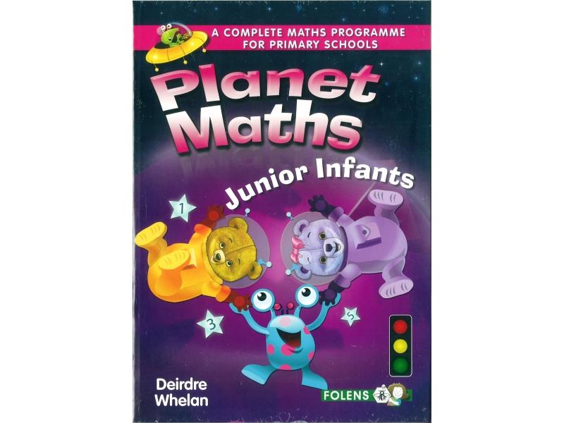 Planet Maths Junior Infants Pack - Textbook & Activity Book
