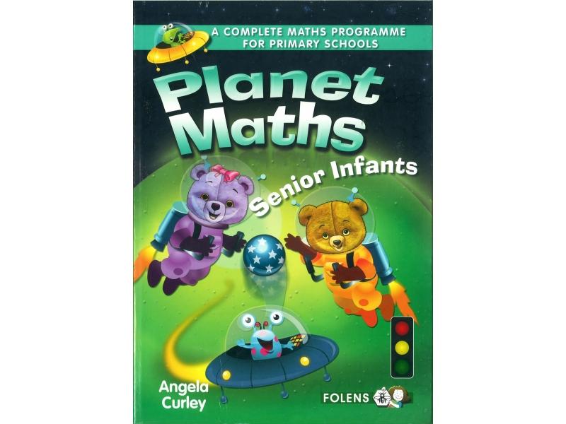 Planet Maths Senior Infants Pack - Textbook & Activity Book