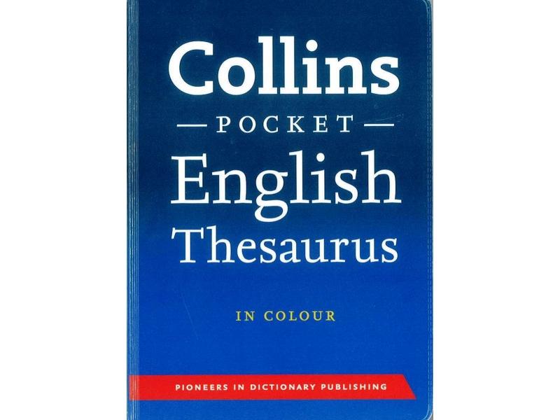 Collins Pocket English Thesaurus