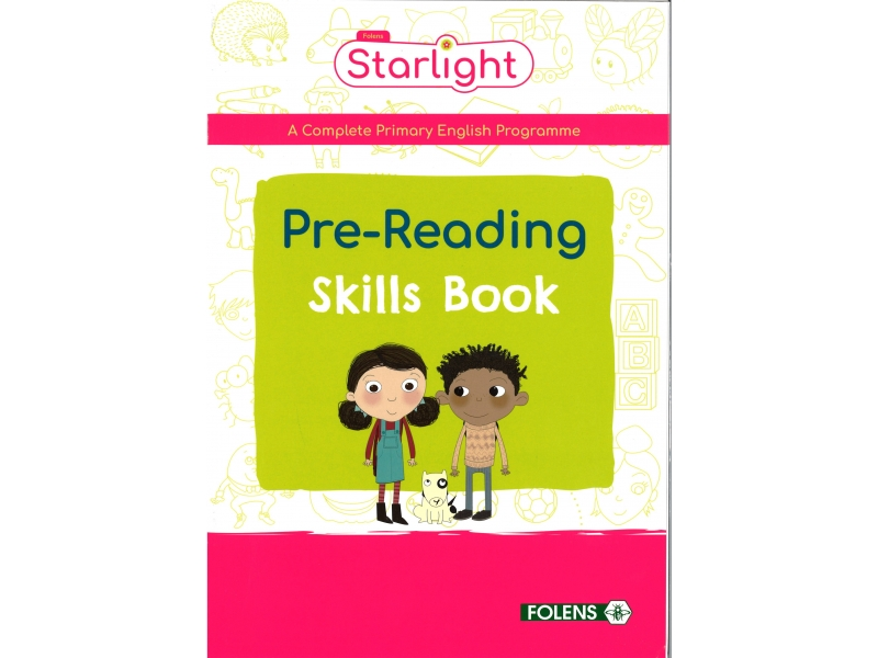 Pre-Reading Skills Book - Starlight - Junior Infants