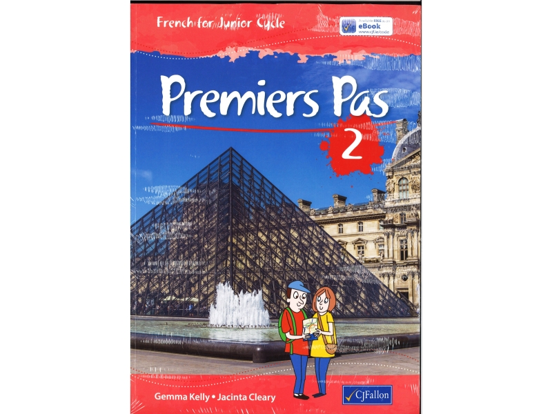 Premiers Pas 2 Pack - Textbook & Activity Book - French For Junior Cycle - Includes Free eBook