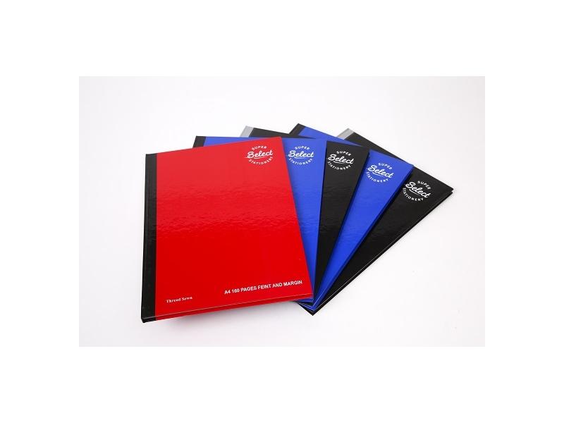 A4 Hardback 160pg Boys - Pack 5