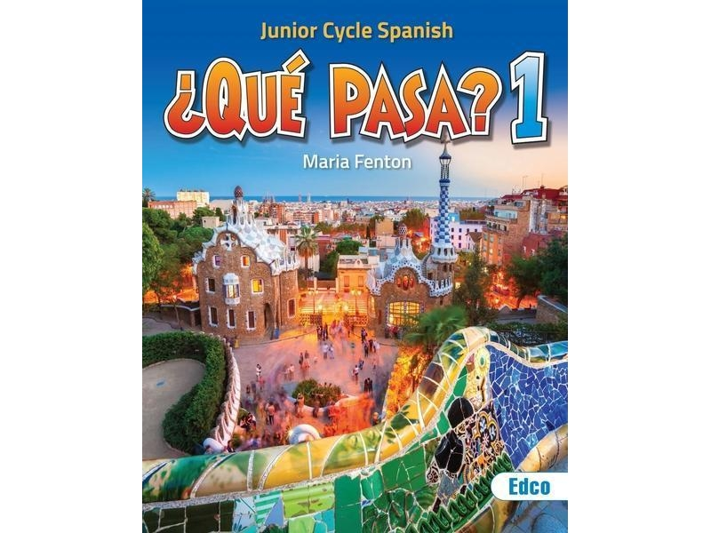 Que Pasa 1 Pack - Text Book & Work Book - Junior Cycle Spanish - Includes Free eBook