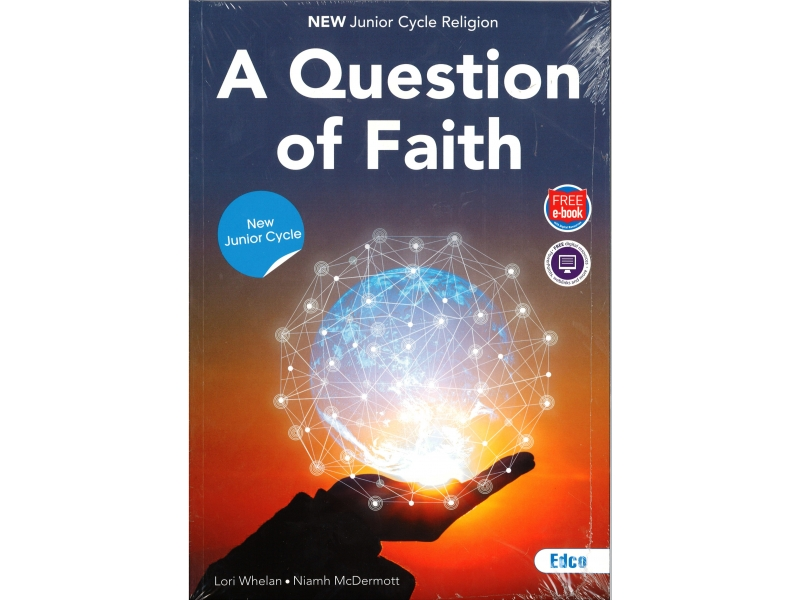 A Question Of Faith Pack - Textbook & Activity Book - Junior Cycle Religion - Includes Free eBook