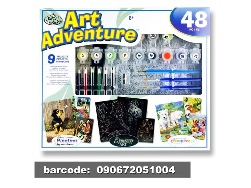 Art Adventure - Animals - 48 Pieces