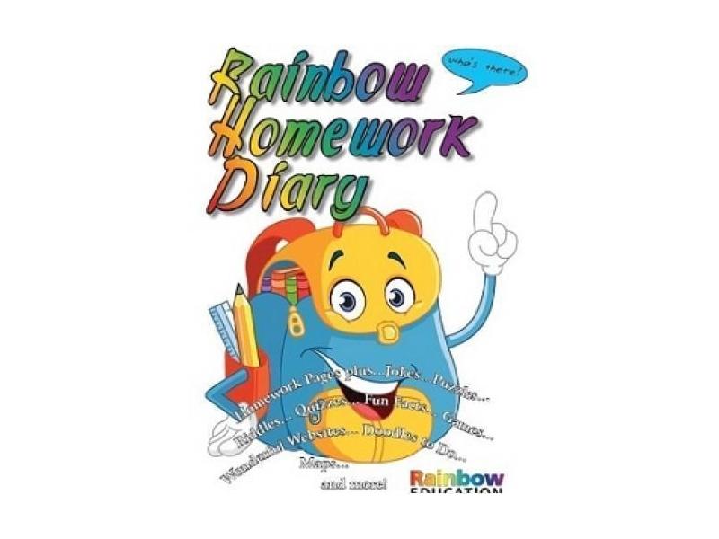 Rainbow Homework Diary / Journal