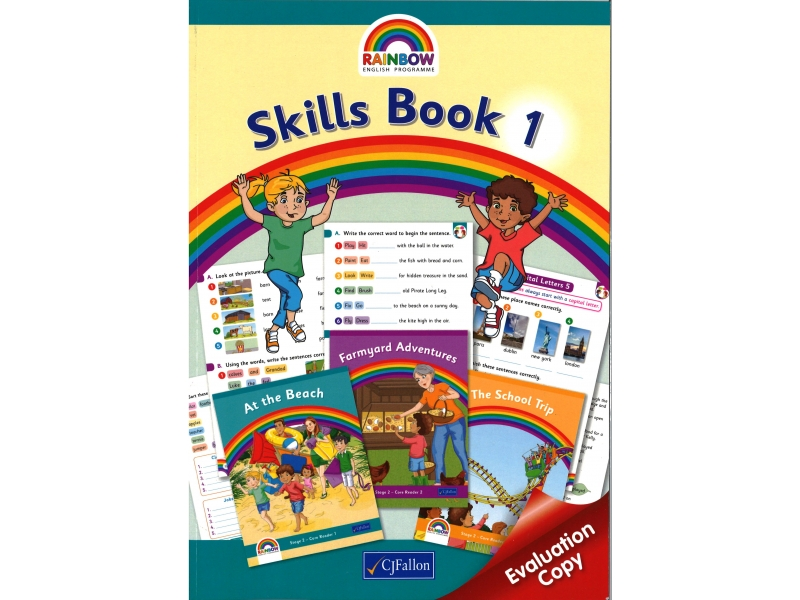 Skills Book 1 - Rainbow Stage Two - First Class