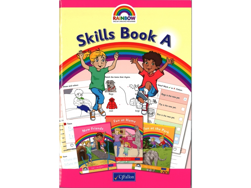 Skills Book A - Rainbow Stage One - Junior Infants