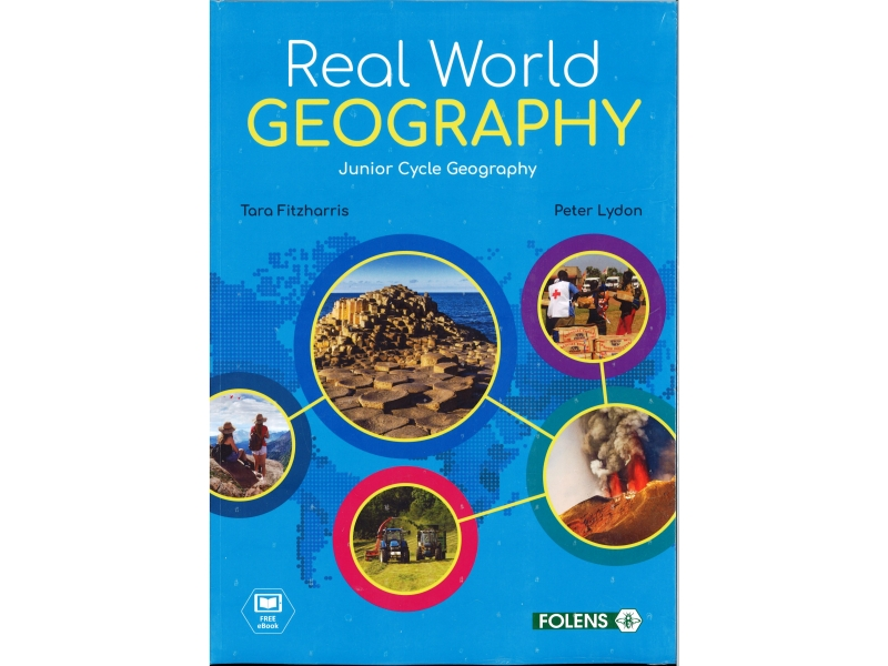 Real World Geography Pack - Textbook & Workbook - Includes Free eBook - Junior Cycle Geography