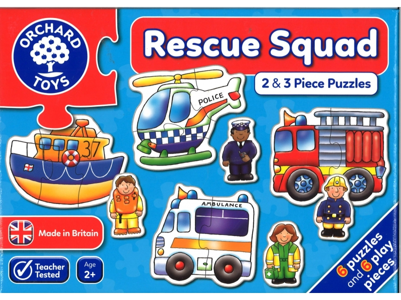 Rescue squad jigsaws