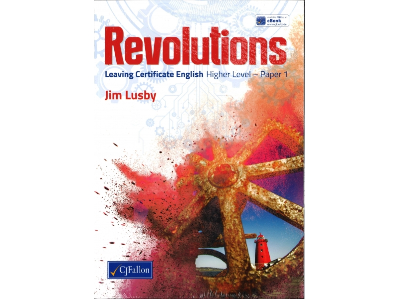 Revolutions Pack - Leaving Certificate  English Higher Level Paper 1 - Textbook & Portfolio Book