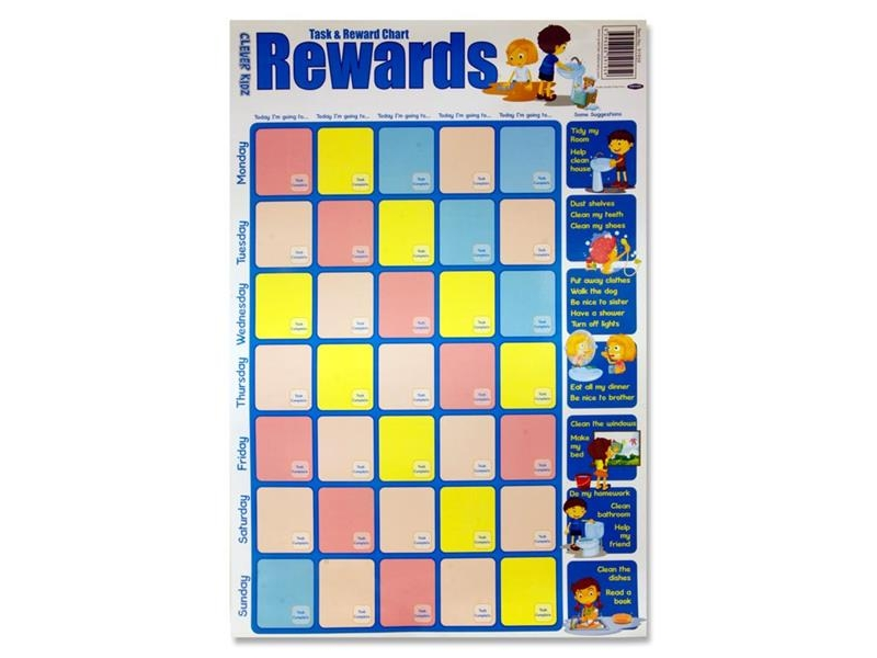 Poster Task & Reward Chart Rewards - Clever Kidz
