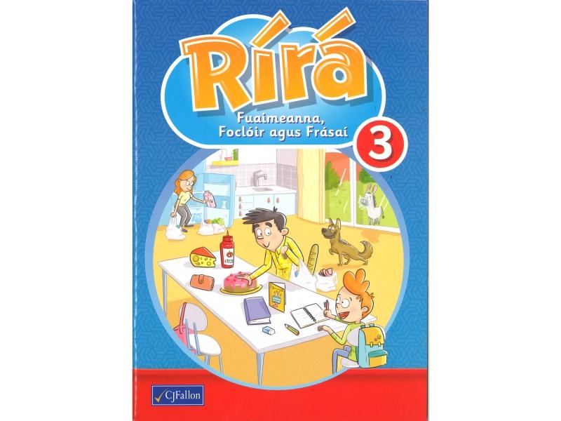 Rírá 3 - Fuaimeanna, Foclóir agus Frásaí