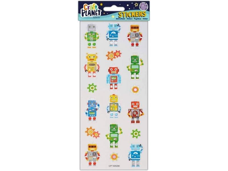 Craft Planet - Fun Stickers Robots
