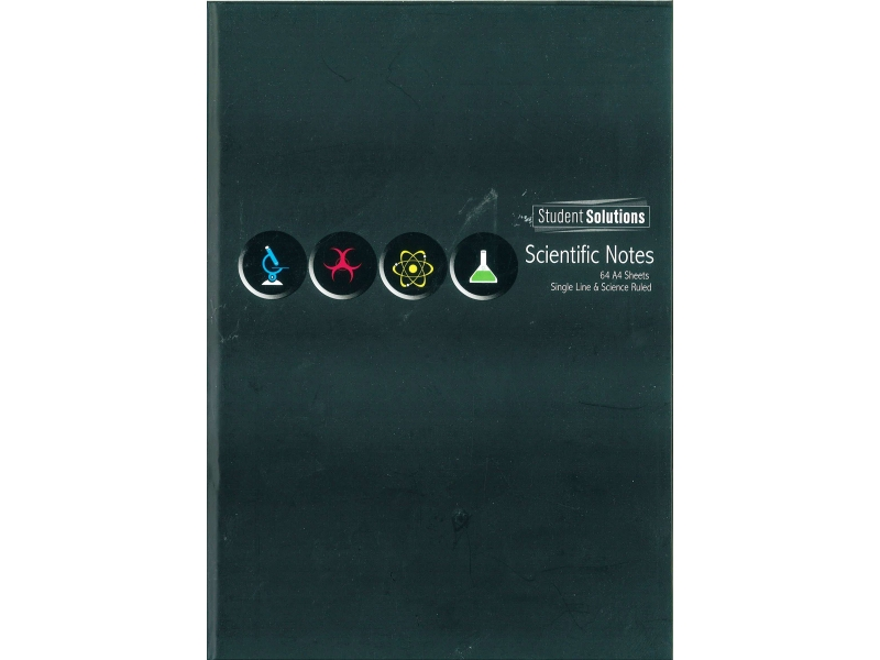 Science Hardback Copy A4 128 Page