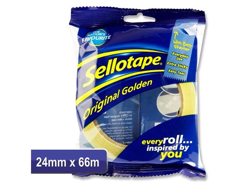 Sellotape 24mmx66m