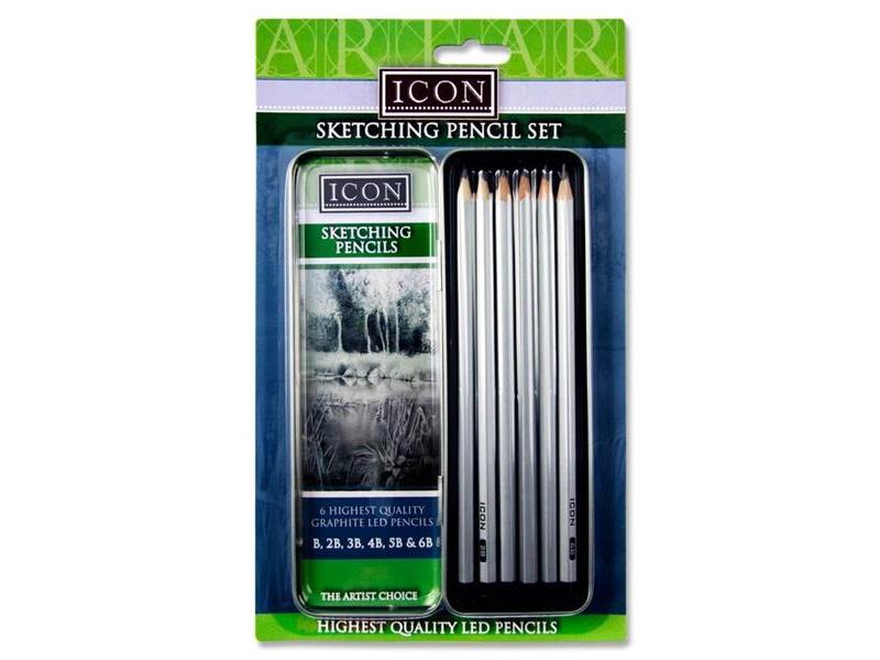 Icon Sketching Pencil Set