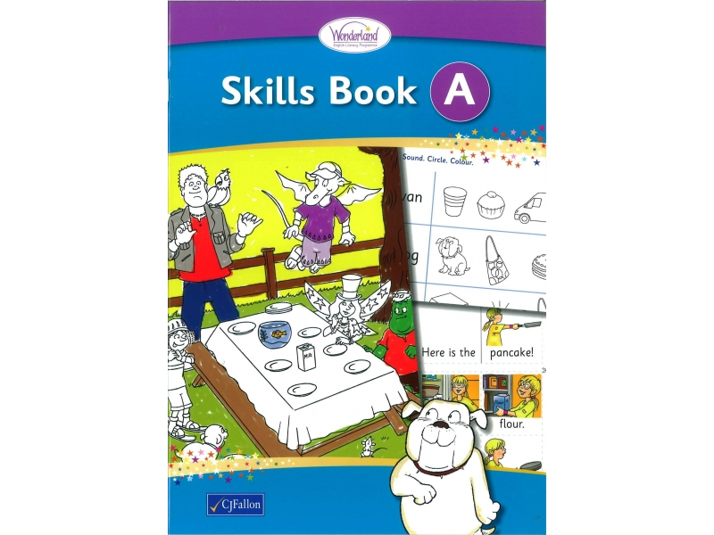 Skills Book A - Wonderland Stage One - Junior Infants