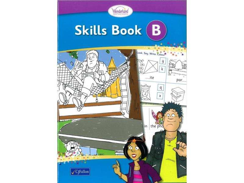 Skills Book B - Wonderland Stage One - Junior Infants