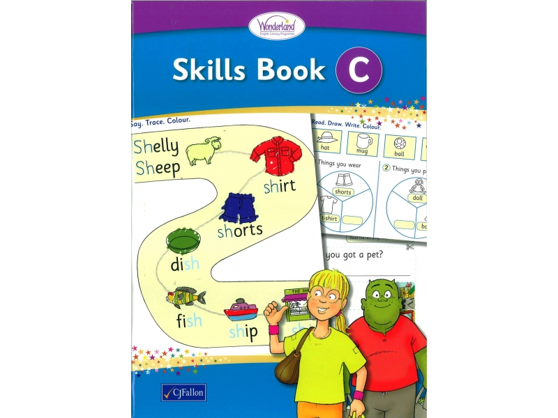 Skills Book C - Wonderland Stage One - Senior Infants