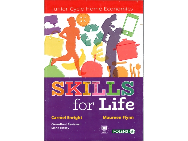 Skills for Life - Textbook & Student Activity Book - Junior Cycle - Includes Free eBook