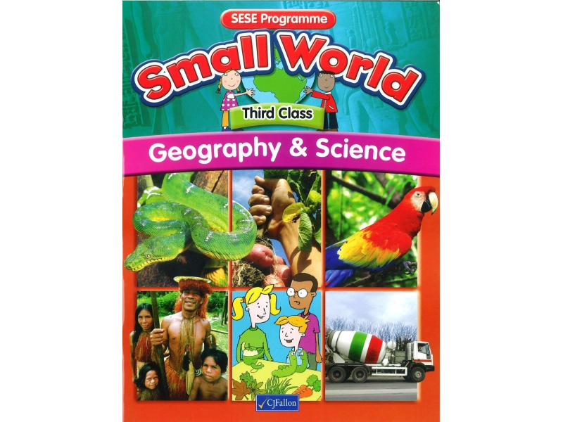 Small World Geography & Science Textbook Third Class