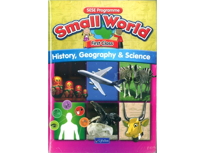 Small World First Class Pack - Textbook & Project Copybook