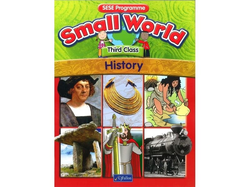 Small World History Textbook Third Class