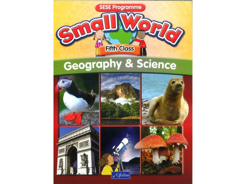 Small World Geography & Science Textbook Fifth Class