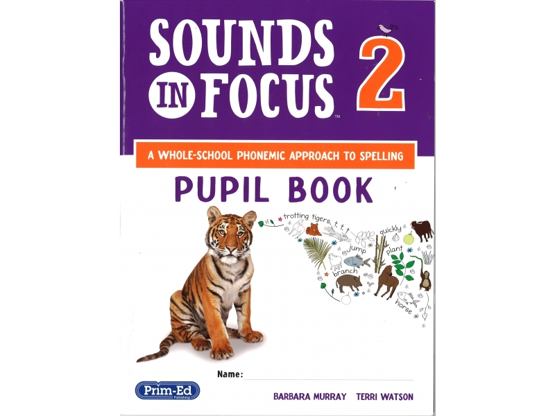 Sounds In Focus - Pupil Book - Second Class